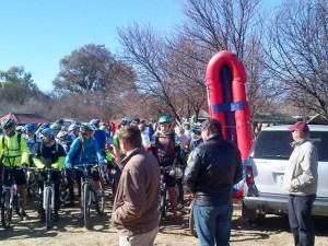MTB Advendurance at Hakuna Matata Parys. VEC the first choice in medical assistance